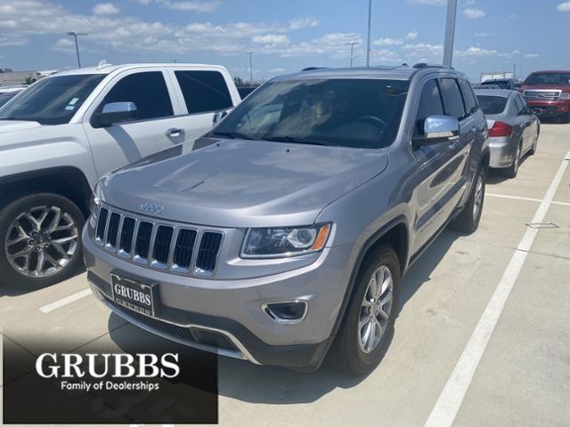 2015 Jeep Grand Cherokee Vehicle Photo in Grapevine, TX 76051