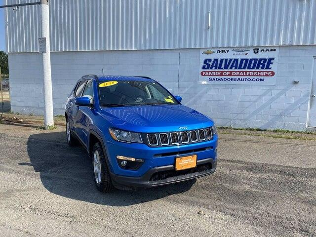 2018 Jeep Compass Vehicle Photo in GARDNER, MA 01440-3110