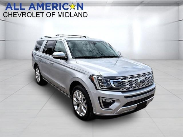2018 Ford Expedition Max Vehicle Photo in MIDLAND, TX 79703-7718