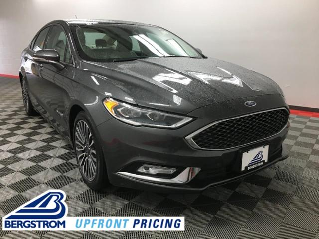 2018 Ford Fusion Hybrid Vehicle Photo in Appleton, WI 54913