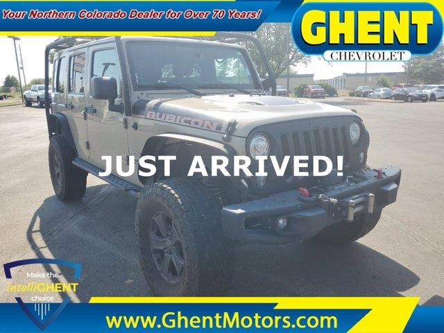 2017 Jeep Wrangler Unlimited Vehicle Photo in GREELEY, CO 80634-4125