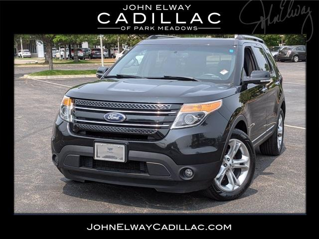 2013 Ford Explorer Vehicle Photo in LONE TREE, CO 80124-2754