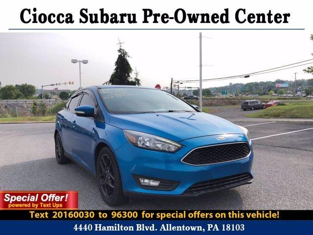 2016 Ford Focus Vehicle Photo in Allentown, PA 18103