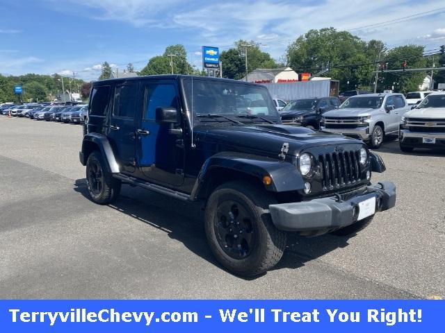 2015 Jeep Wrangler Unlimited Vehicle Photo in Terryville, CT 06786