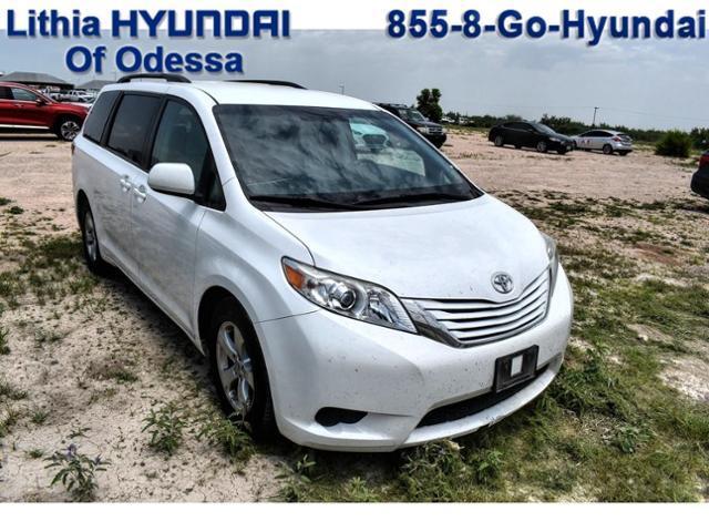 2017 Toyota Sienna Vehicle Photo in Odessa, TX 79762