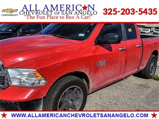 2013 Ram 1500 Vehicle Photo in SAN ANGELO, TX 76903-5798