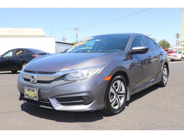 2018 Honda Civic Sedan Vehicle Photo in Turlock, CA 95380