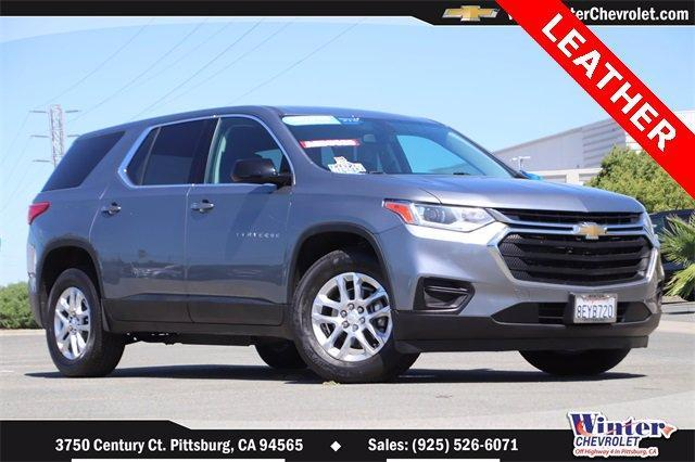 2018 Chevrolet Traverse Vehicle Photo in PITTSBURG, CA 94565-7121