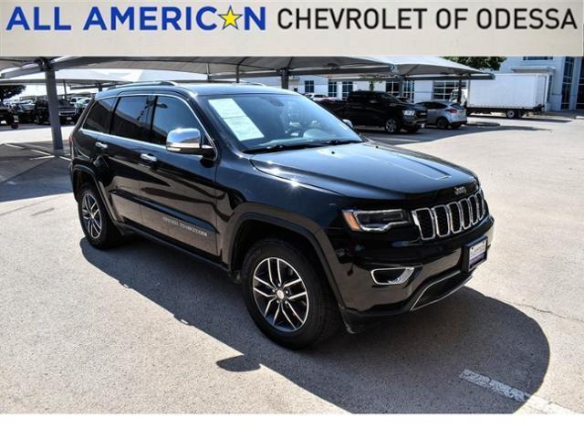2017 Jeep Grand Cherokee Vehicle Photo in Odessa, TX 79762