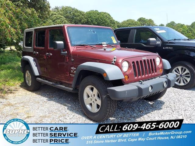 2008 Jeep Wrangler Vehicle Photo in CAPE MAY COURT HOUSE, NJ 08210-2432