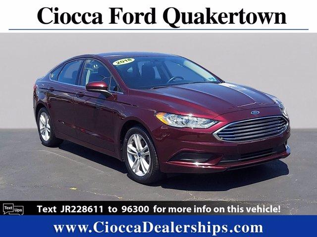 2018 Ford Fusion Vehicle Photo in Quakertown, PA 18951