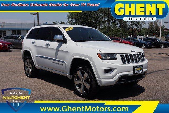 2016 Jeep Grand Cherokee Vehicle Photo in GREELEY, CO 80634-4125
