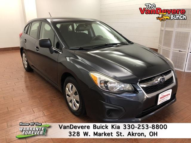 2012 Subaru Impreza Wagon Vehicle Photo in Akron, OH 44303