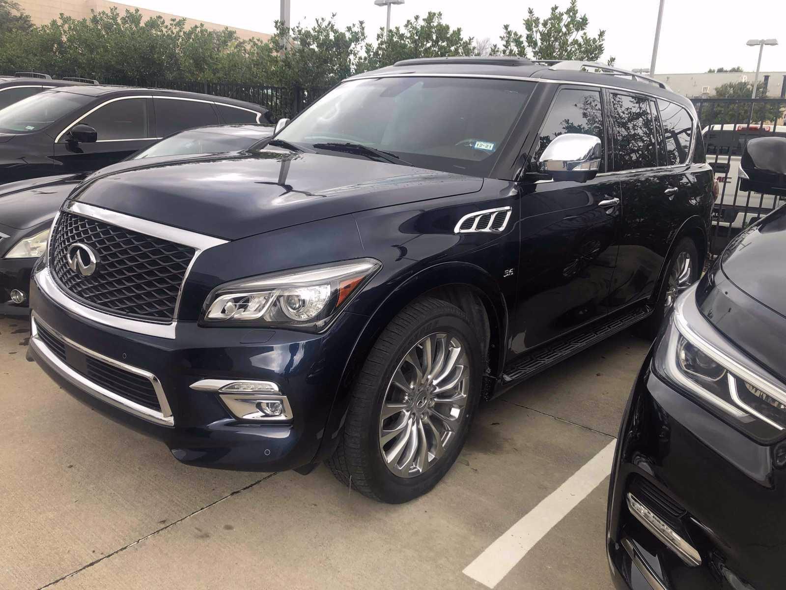 2017 INFINITI QX80 Vehicle Photo in Fort Worth, TX 76132