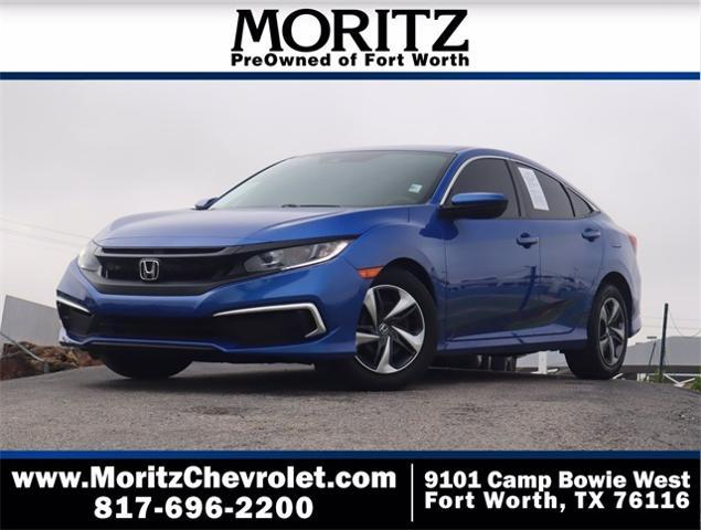 2020 Honda Civic Sedan Vehicle Photo in Fort Worth, TX 76116