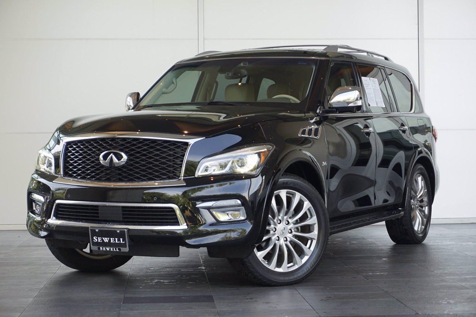 2016 INFINITI QX80 Vehicle Photo in Houston, TX 77079