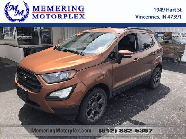 2018 Ford EcoSport Vehicle Photo in Vincennes, IN 47591