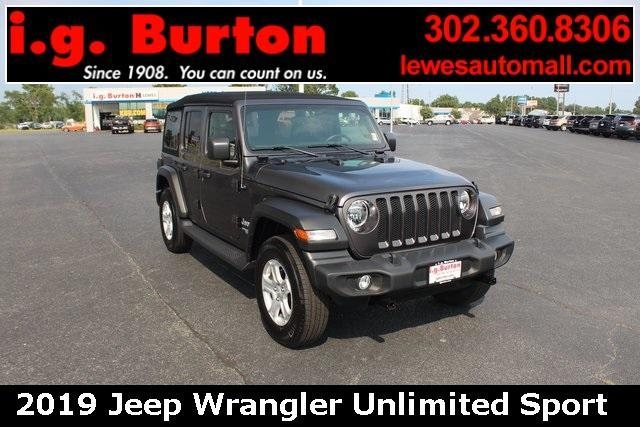 2019 Jeep Wrangler Unlimited Vehicle Photo in LEWES, DE 19958-4935