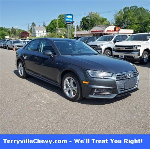 2018 Audi A4 Vehicle Photo in Terryville, CT 06786