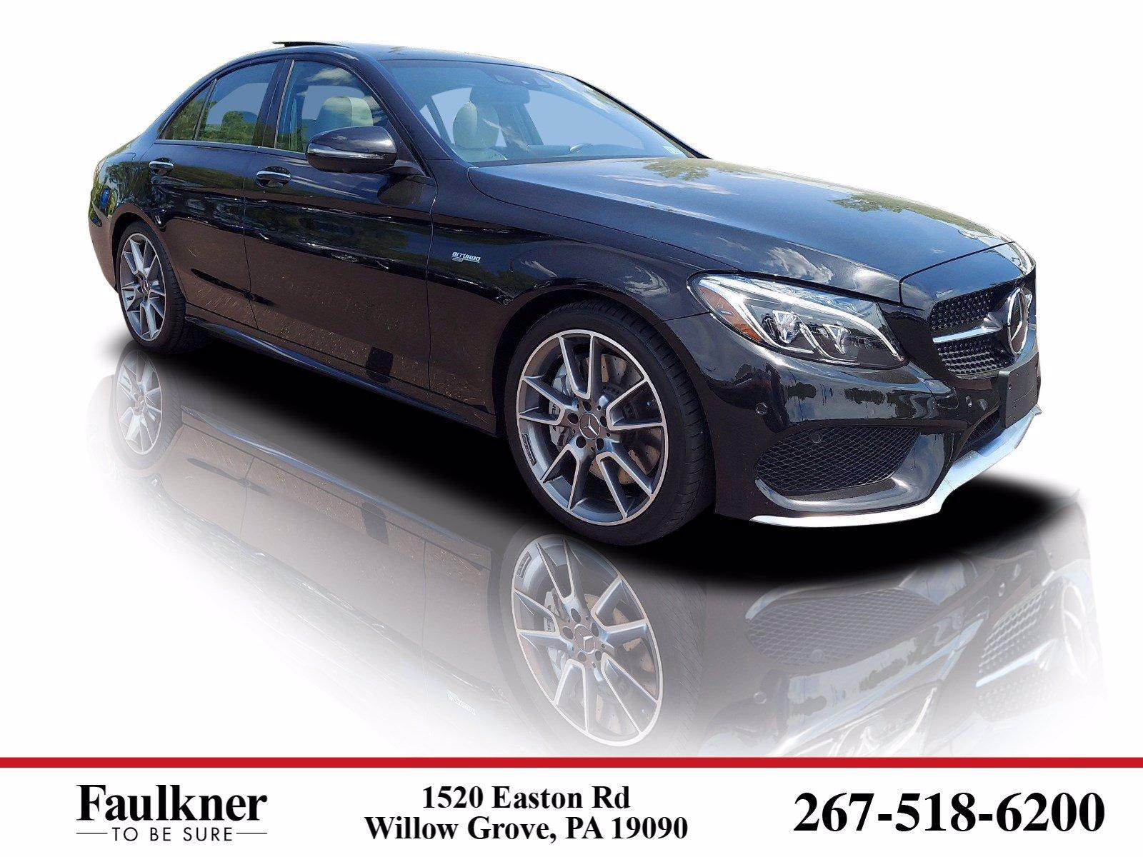 2018 Mercedes-Benz C-Class Vehicle Photo in Willow Grove, PA 19090