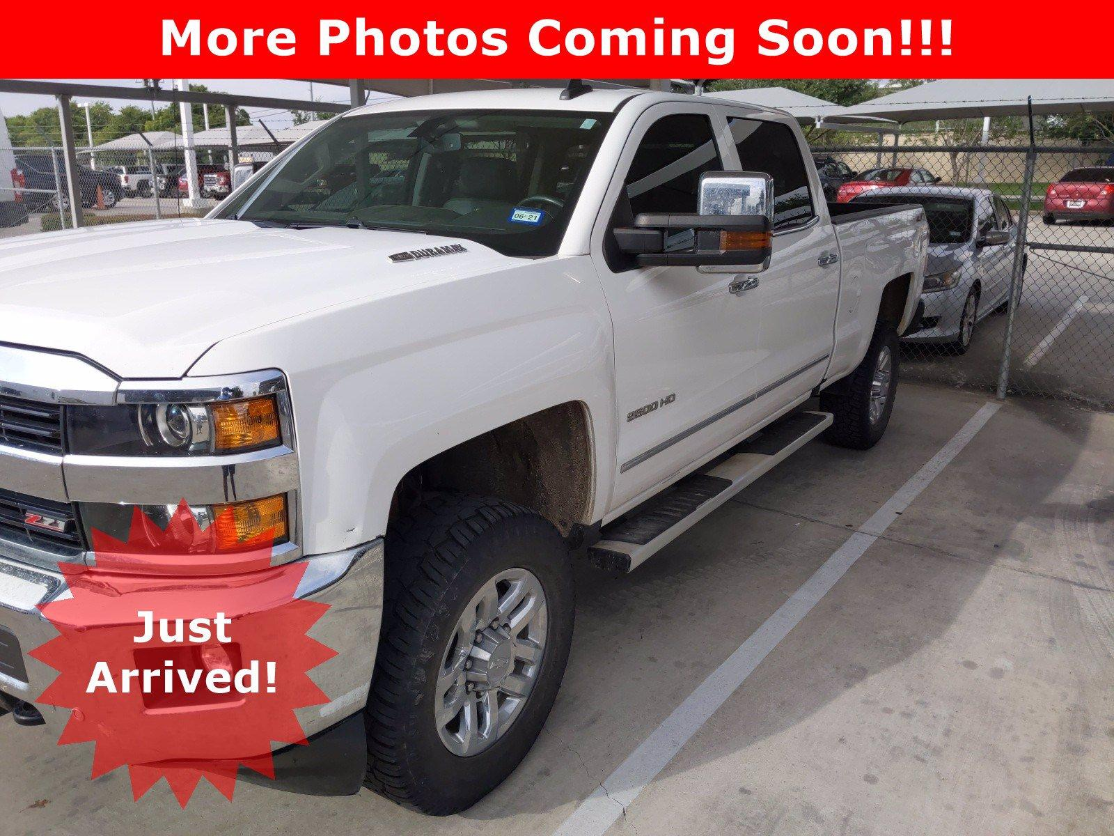 2016 Chevrolet Silverado 2500HD Vehicle Photo in SELMA, TX 78154-1459