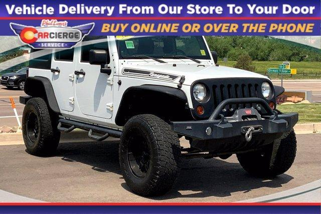 2011 Jeep Wrangler Unlimited Vehicle Photo in Colorado Springs, CO 80905