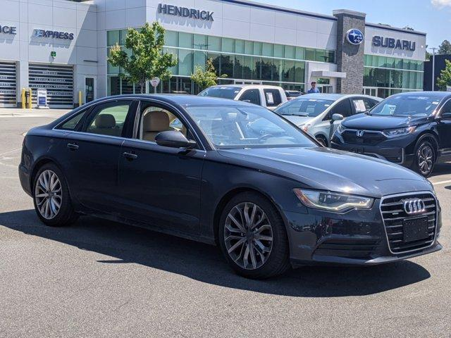 2013 Audi A6 Vehicle Photo in Chapel Hill, NC 27514