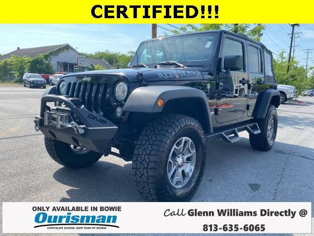2018 Jeep Wrangler JK Unlimited Vehicle Photo in Bowie, MD 20716