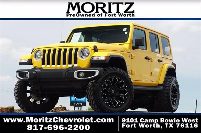 2019 Jeep Wrangler Unlimited Vehicle Photo in Fort Worth, TX 76116