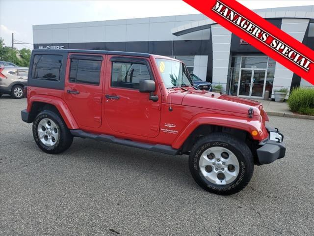 2011 Jeep Wrangler Unlimited Vehicle Photo in LITTLE FALLS, NJ 07424-1717