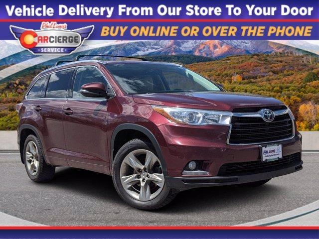 2015 Toyota Highlander Vehicle Photo in Glenwood Springs, CO 81601