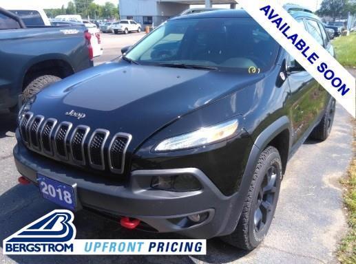 2018 Jeep Cherokee Vehicle Photo in APPLETON, WI 54914-4656