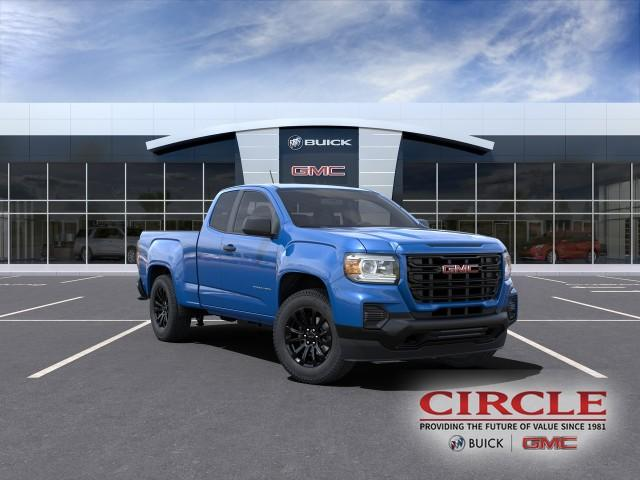 2021 GMC Canyon Vehicle Photo in HIGHLAND, IN 46322-2603
