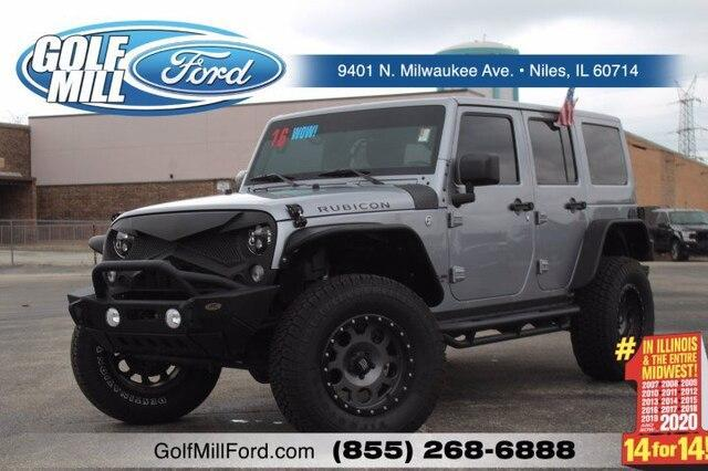 2016 Jeep Wrangler Unlimited Vehicle Photo in Plainfield, IL 60586