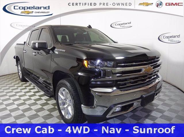 2019 Chevrolet Silverado 1500 Vehicle Photo in BROCKTON, MA 02301-7113