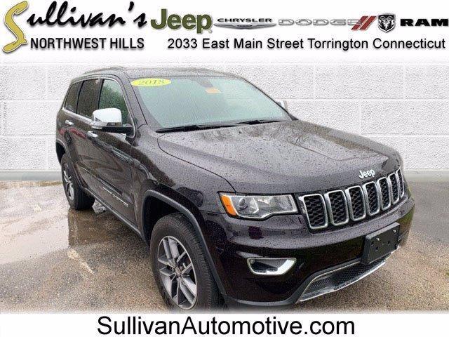 2018 Jeep Grand Cherokee Vehicle Photo in TORRINGTON, CT 06790-3111