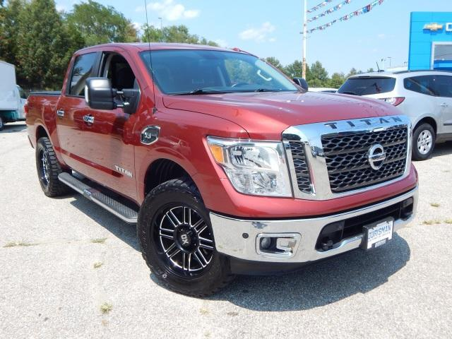 2017 Nissan Titan Vehicle Photo in BOWIE, MD 20716-3617