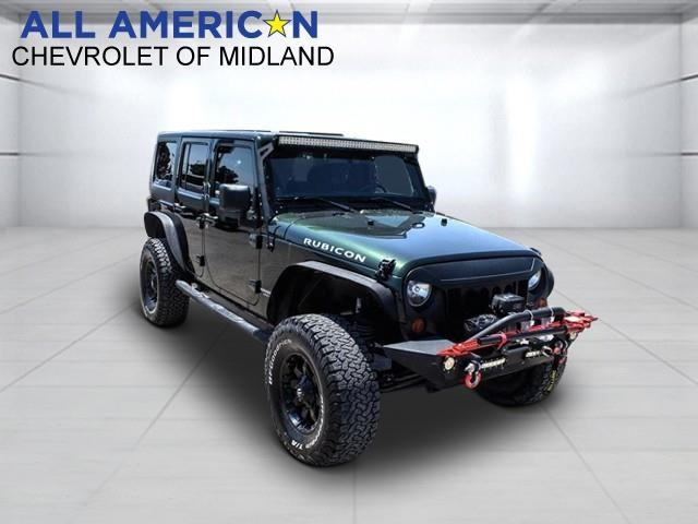 2011 Jeep Wrangler Unlimited Vehicle Photo in Midland, TX 79703