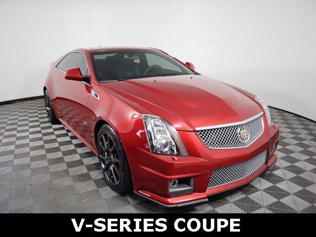 2013 Cadillac CTS-V Coupe Vehicle Photo in ALLIANCE, OH 44601-4622