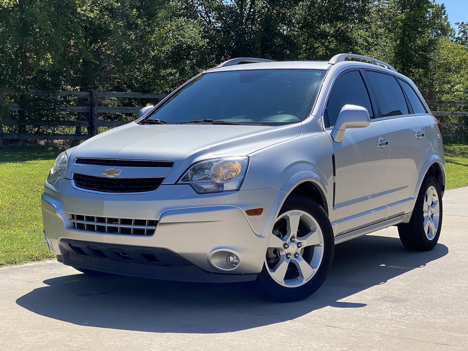 Used 2014 Chevrolet Captiva Sport Fleet Fwd 4dr Ltz In Silver Ice Metallic For Sale In Stigler Oklahoma A24017