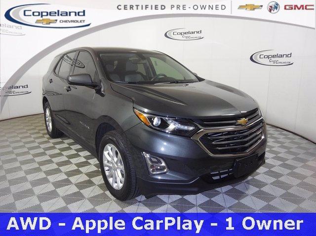 2018 Chevrolet Equinox Vehicle Photo in BROCKTON, MA 02301-7113