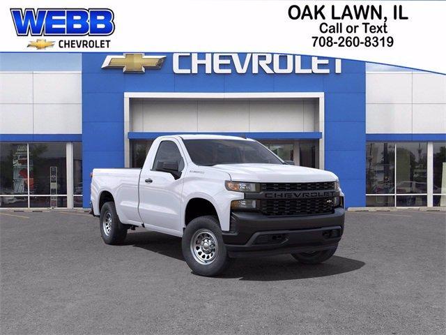2021 Chevrolet Silverado 1500 Vehicle Photo in OAK LAWN, IL 60453-2560