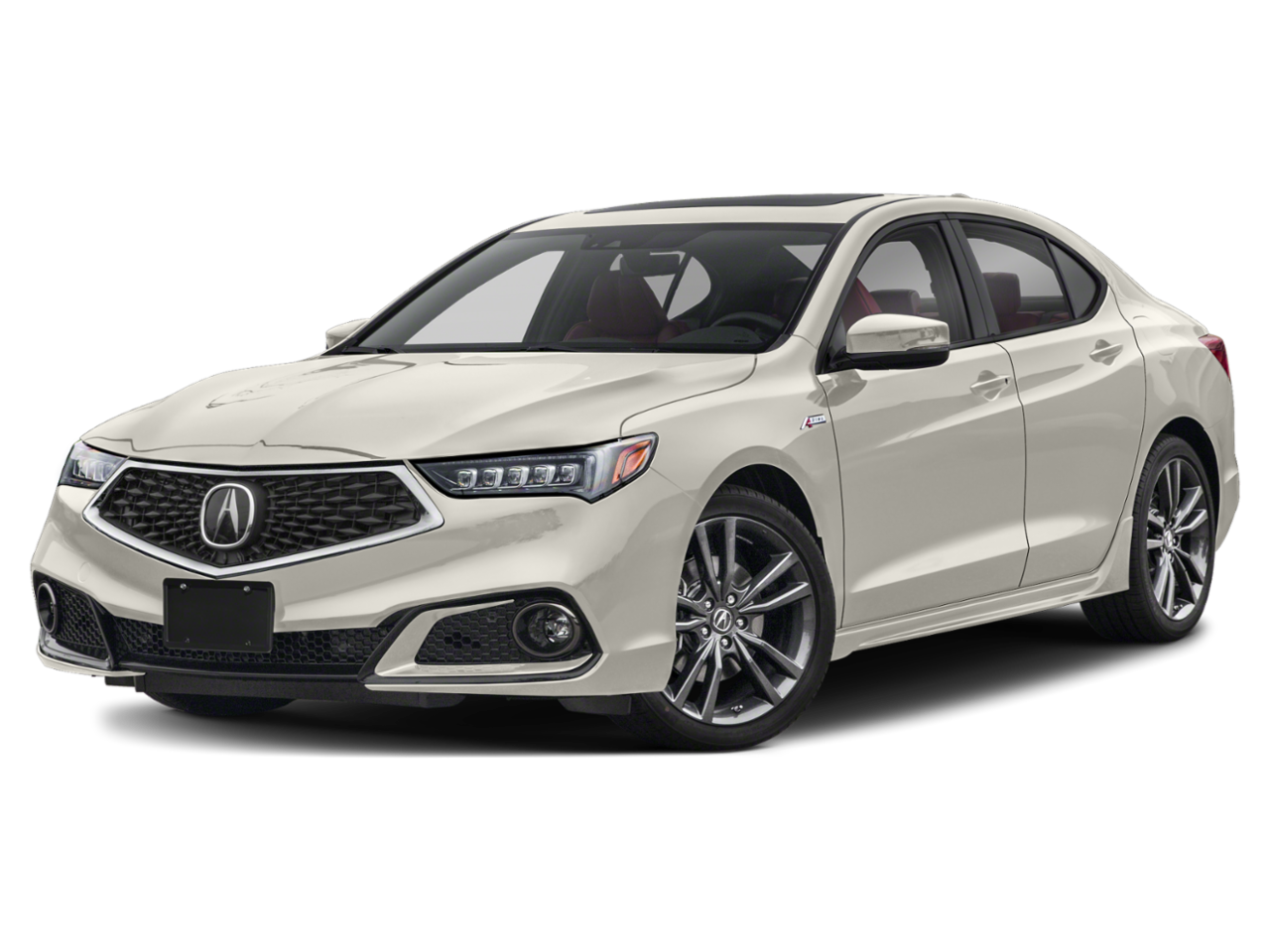 Acura 2020 TLX w/A-Spec Pkg Red Leather