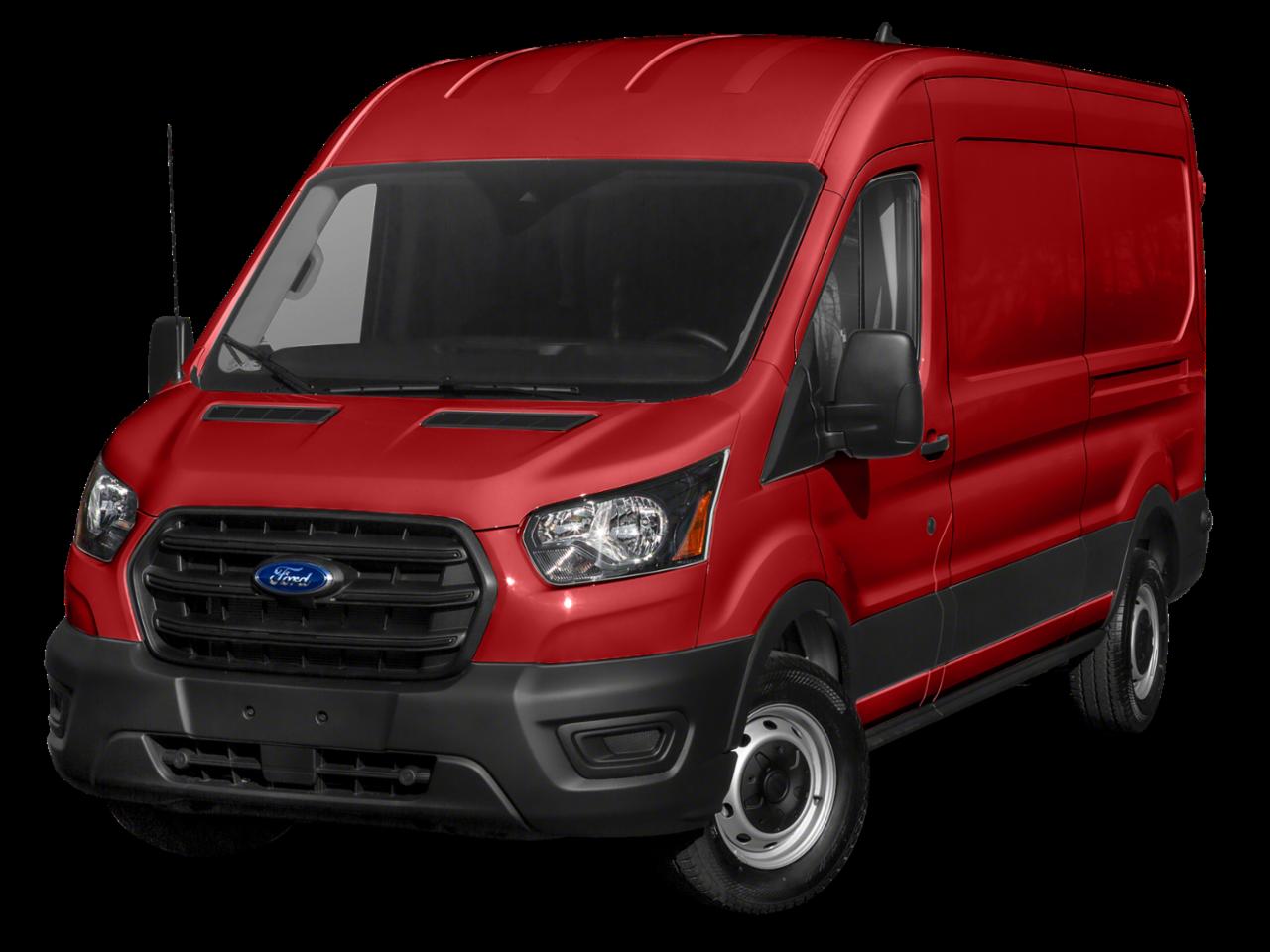 """Ford 2020 Transit Cargo Van T-150 130"""" Med Rf 8670 GVWR RWD"""