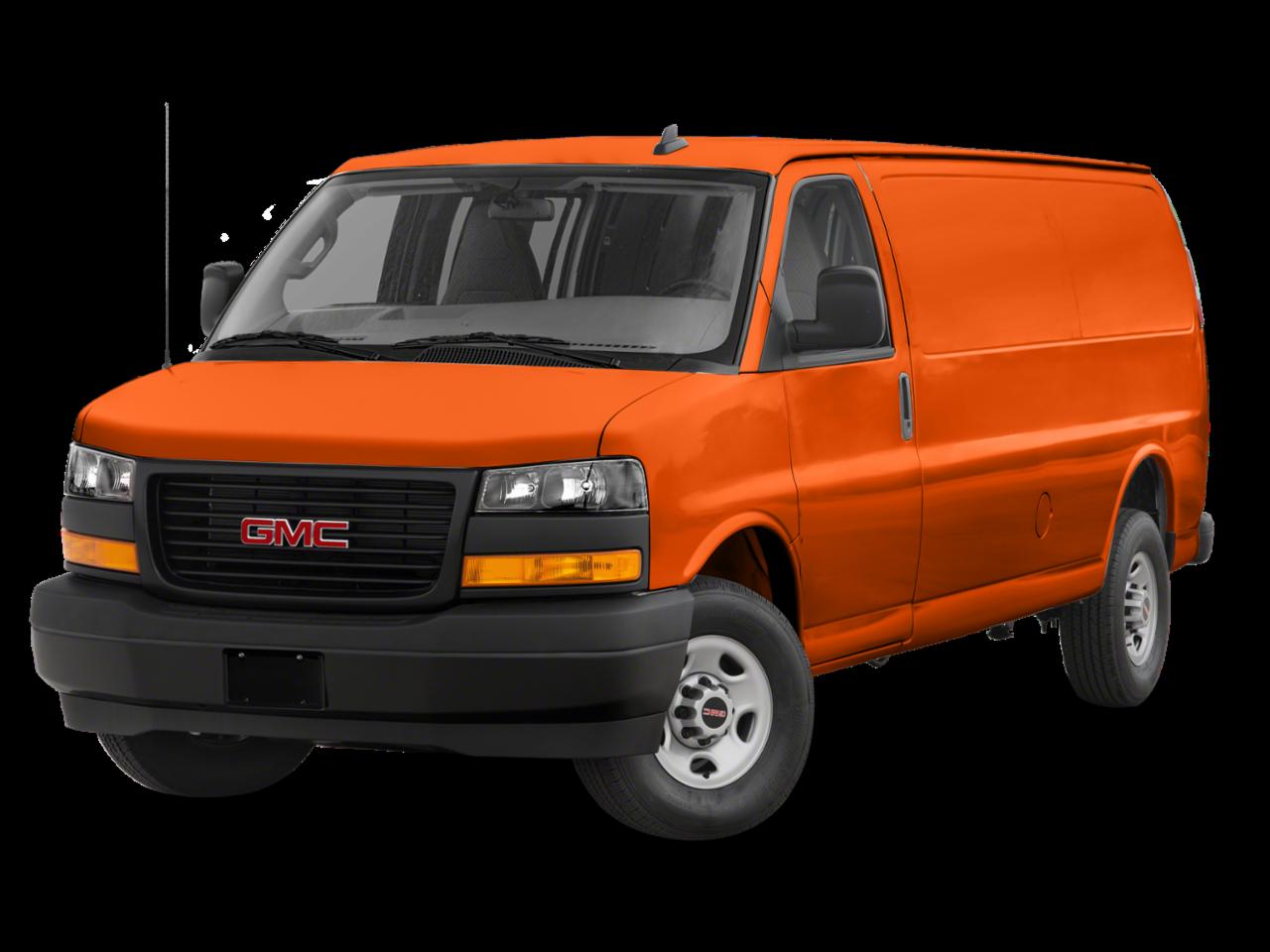 GMC 2021 Savana Cargo Van 3500 Extended Wheelbase Rear-Wheel Drive