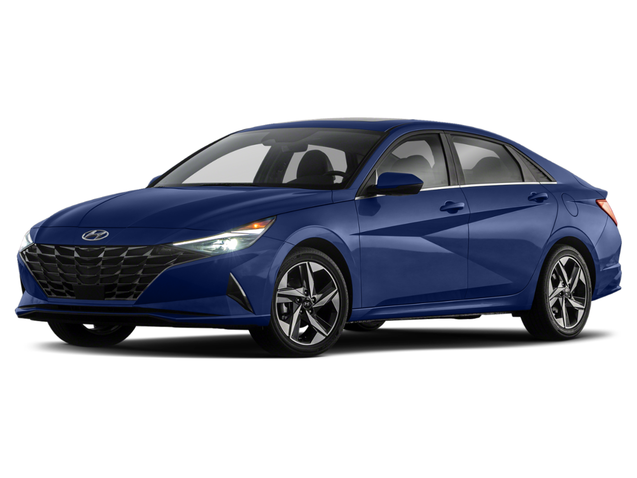Hyundai 2021 Elantra Hybrid Blue