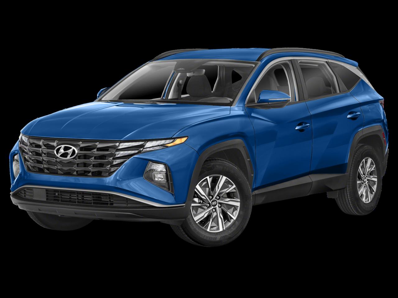 Hyundai 2022 Tucson Hybrid Blue