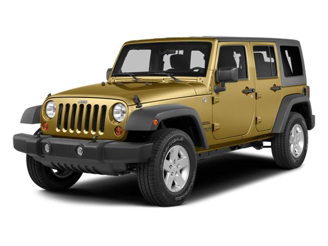 2014 Jeep Wrangler Unlimited Vehicle Photo in Casper, WY 82609
