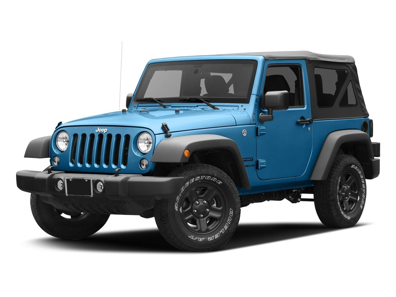 2016 Jeep Wrangler Vehicle Photo in Elyria, OH 44035