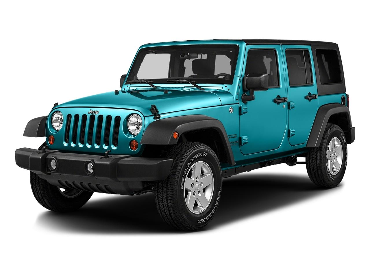 2016 Jeep Wrangler Unlimited Vehicle Photo in Vincennes, IN 47591